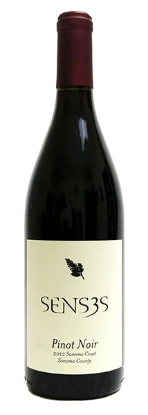sENSES' 2012 pINOT nOIR was LIMITED TO 300 CASES BUT WORTH the effort IF YOU CAN FIND IT.