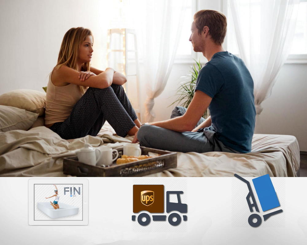 easy online ordering. free delivery.with any fIN MATTRESS  Delivery RIGHT TO YOUR DOOR with Hassle Free Returns