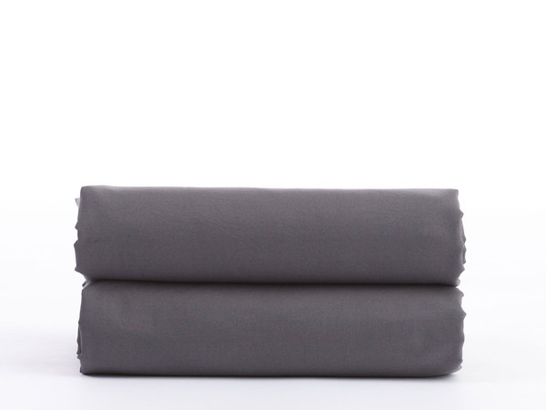 PERCALE FITTED SHEET | Slate  From $60