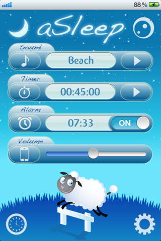 "aSleep is the first ""sleep helper"" App for iPhone since July 2008 by signs studio"