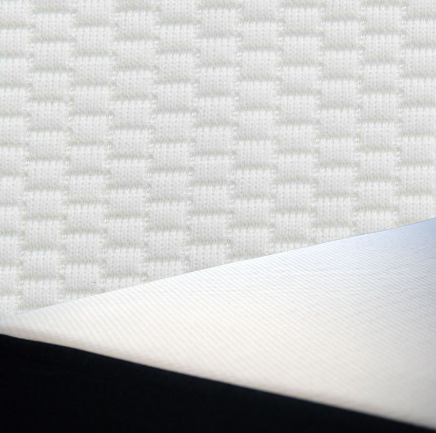 only the Best Materials to go into a FIn memory foam and latex Mattress. all sourced and made in the U.SA.