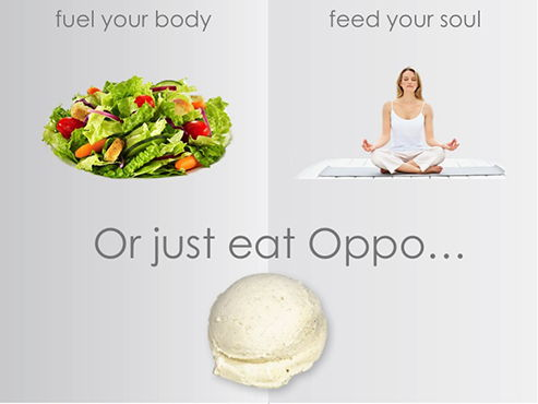 oppo ice cream a healthy indulgence
