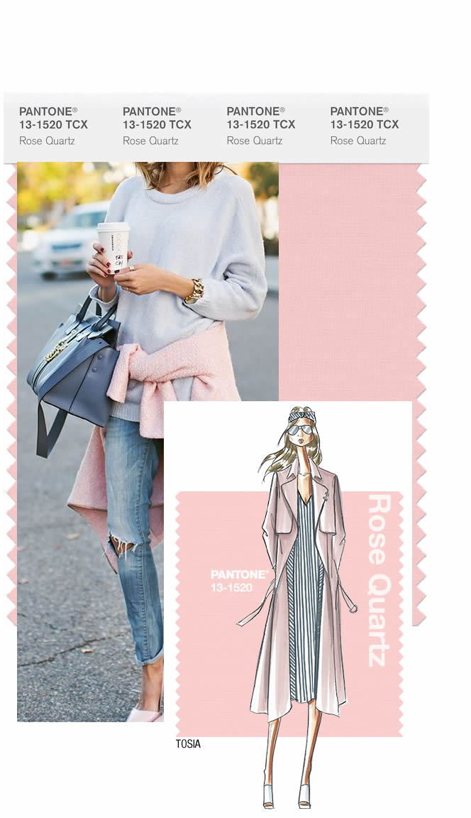 Rose Quartz.  Pantone's color pick for the co-color of 2016