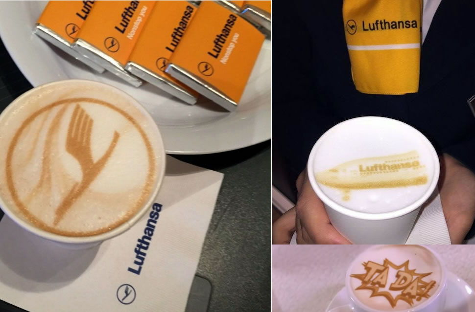 The Germany-based airline lufthansa  will serve its first & business-class passengers drinks made using the Ripple Maker