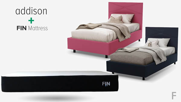 addison bed frame assembly for FIN mattress