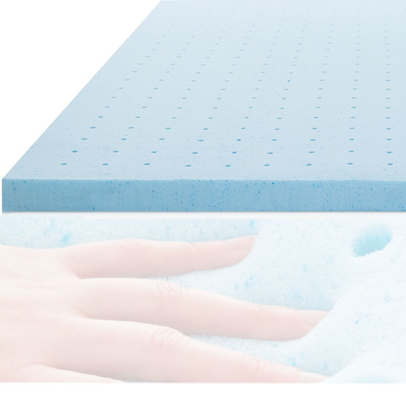 a good nights sleep is the result of combining memory foam with natural continuous latex in a Fin mattress