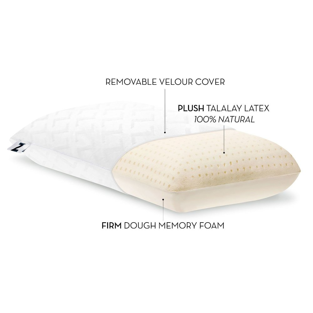 bruhagen pillow wellpur pillows white manhattan foam canada jysk memory