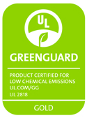 the Flex mattress is made safe and environmentally friendly constructed withnon toxic water based adhesives greenguard gold certified.