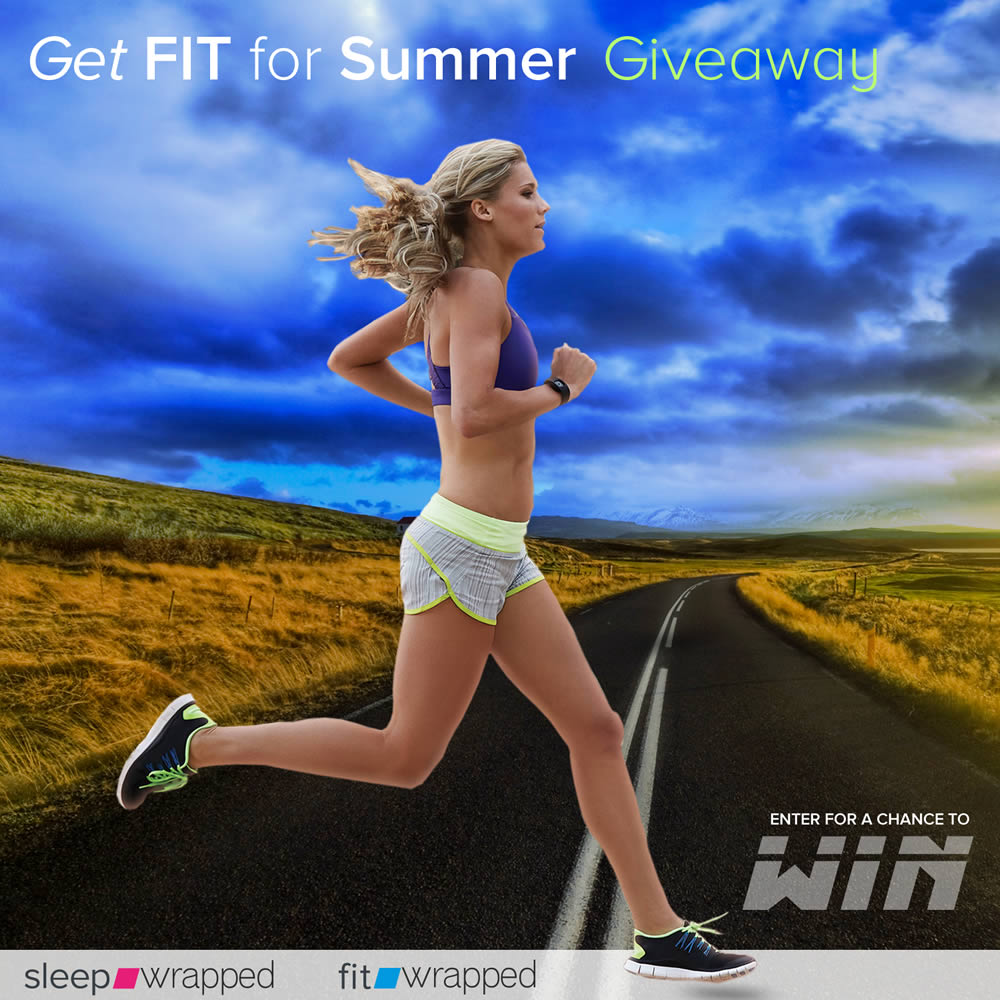 Get Ready for Summer — ENTER TO WIN A $2,895 package to Tune-up your fitness and upgrade your sleep. Prizes INCLUDE — a C990 NordicTrack Treadmill,  a wearable Vue tracker with the iFit Coach fitness app and the Nectar mattress to upgrade your sleep