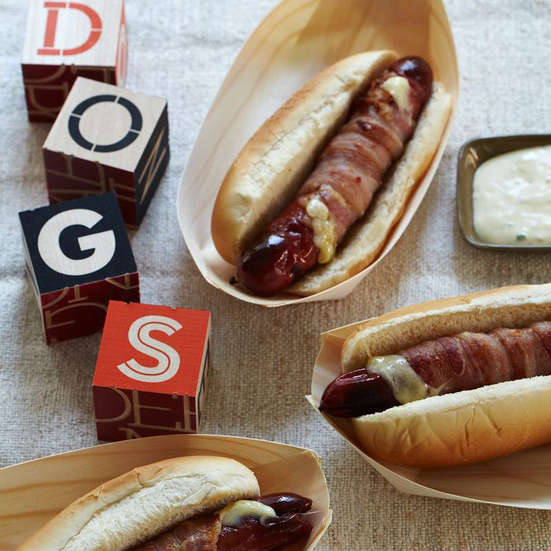 Wolfgang Puck's Hot Dog Melts over 1,400 5 Star Reviews. Awesome! Contributed By Wolfgang Puck Photo © Lucy Schaeffer