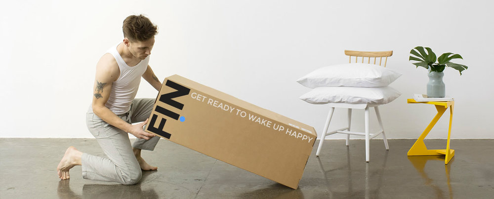 UNBOX  YOUR OWN FIN MATTRESS, CUSTOM MADE, DIRECT FROM THE FACTORY TO YOU