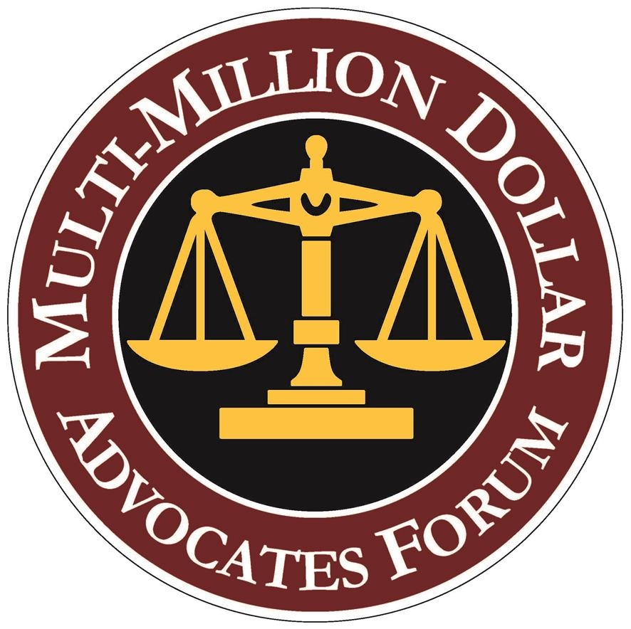 Multi-Million Dollar Advocates Forum Owner / Attorney Mark C. Guenin is a member.