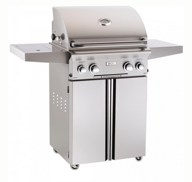 Propane Gas Grill with Rotisserie and side burner