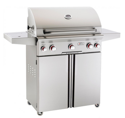 Barbecue grill with rotisserie