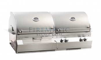 Charcoal and Gas combo grill