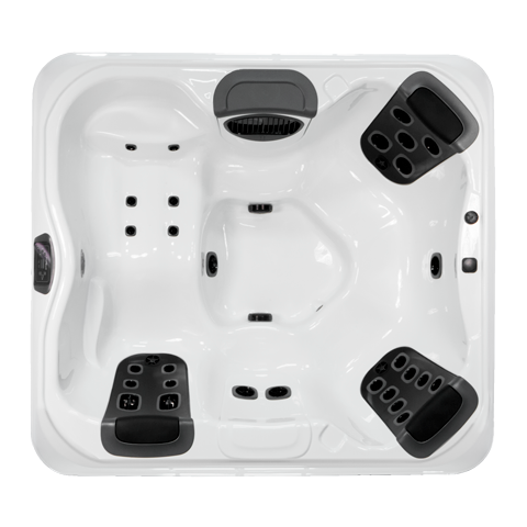 R6L SPA With a 6 person capacity