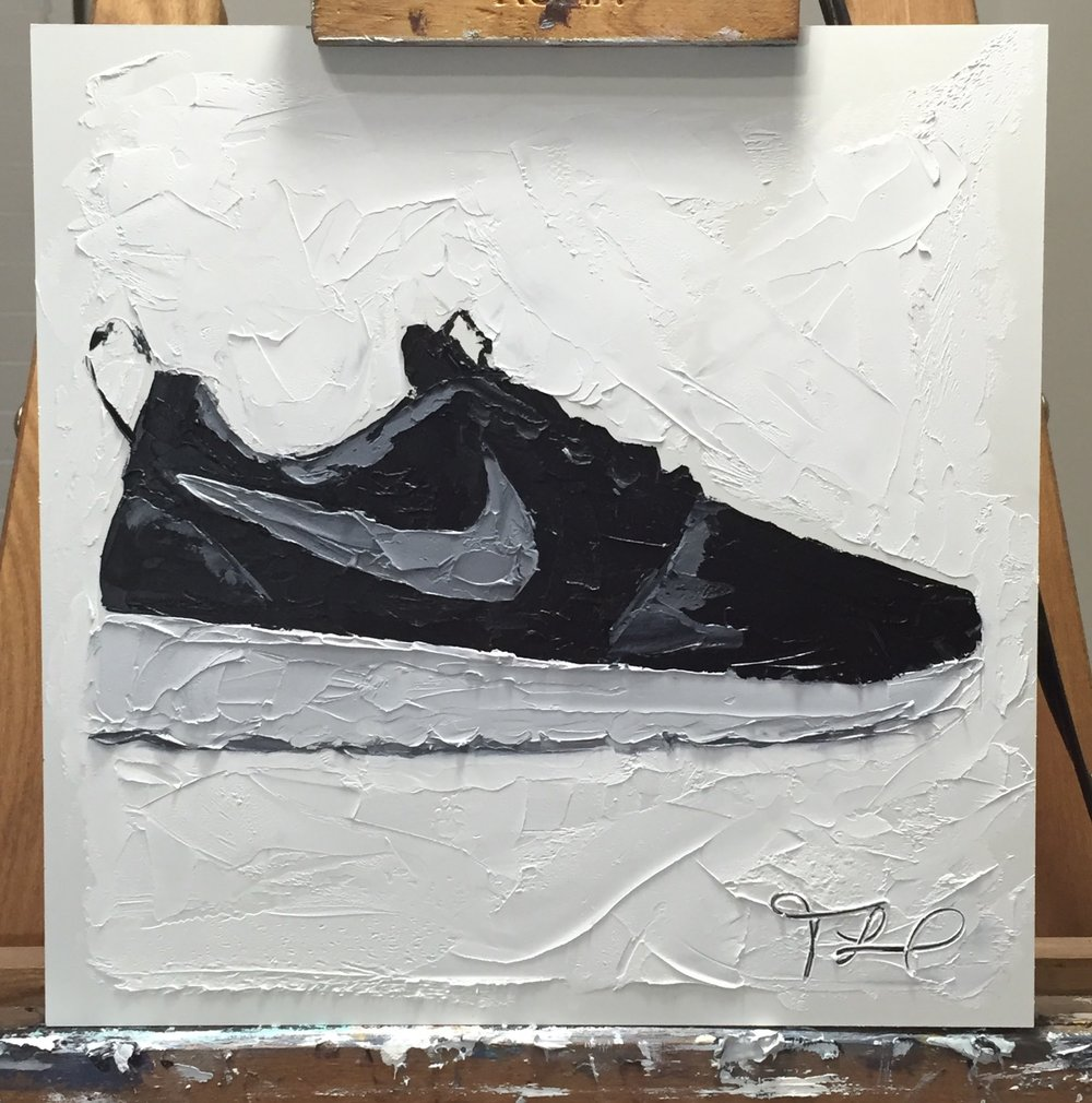 Nike Roshe Shoe Painting