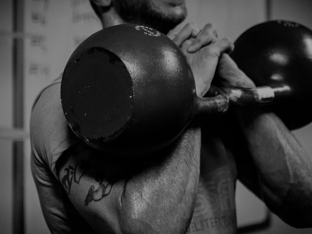 WEIGHT TRAINING - The ol' fashioned way to get strong.Lifting heavy loads with perfect form makes noticeable and measurable improvement to body in breathtaking fashion. Not to be skipped. Ever.