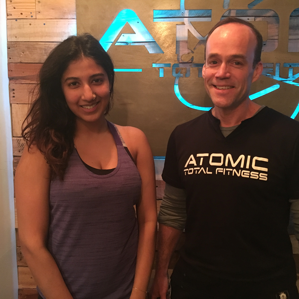 The trainers at ATOMIC strike the perfect balance between pushing you to improve and do your bestand listening to your concerns and being aware of the limitations of your body. You will love them! - - Swati M.