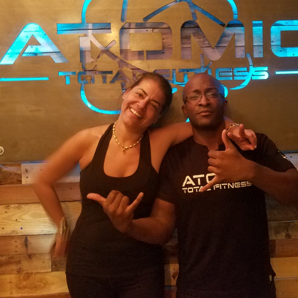 """I was looking for a routine to keep up with my level of pre-pregnancy fitness. Adam and ATF designed a program that integrated strengthtraining & flexibility. As a result my delivery was """"textbook"""". It doesn't get better than that! - - Ashley S."""