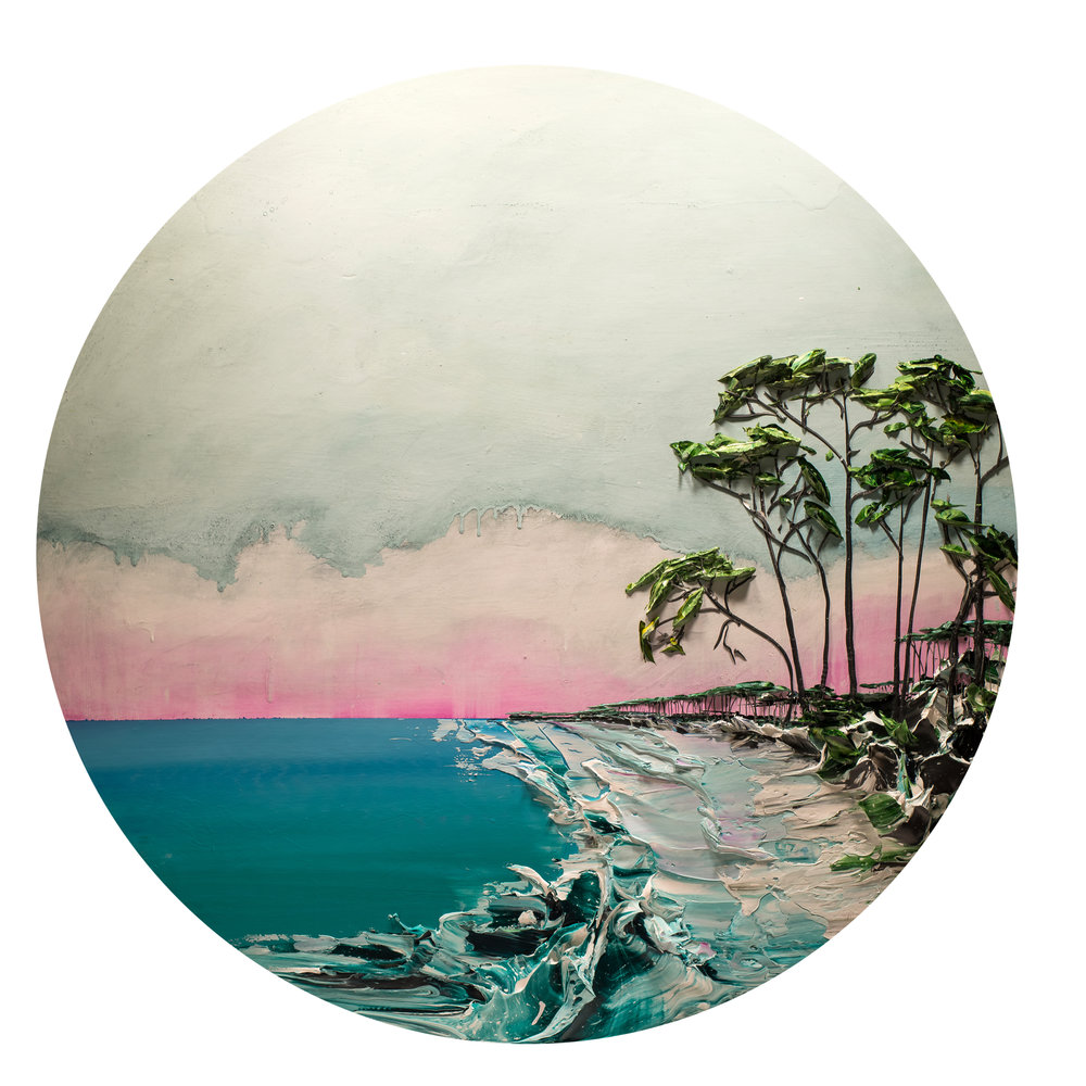 ROUND COASTAL SEASCAPE