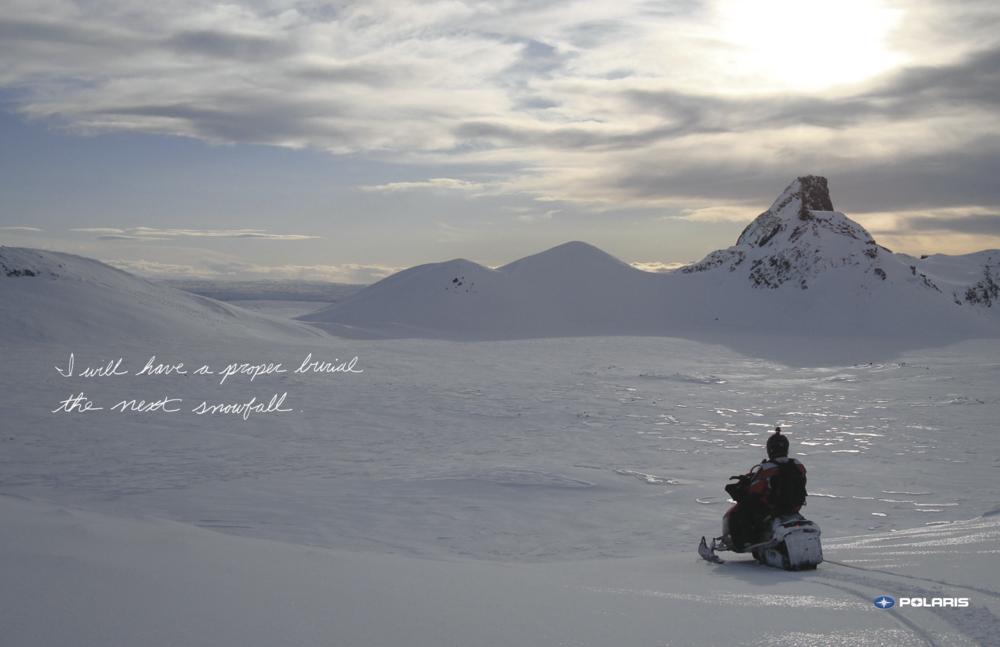 Polaris Snow Mobile Campaign WHITE LOGO v3 burial.png