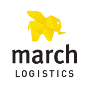 March Logistics Logo. Creator of quality, personal long term logistics relationships