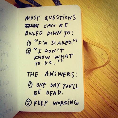 Photo stolen from Austin Kleon's website