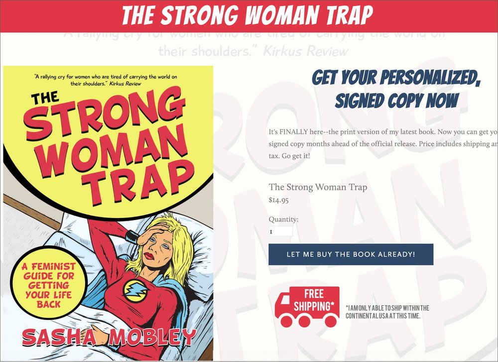 Strong Woman Trap