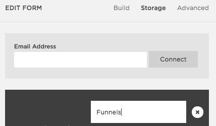 Google Sheet integration in Squarespace Form Block