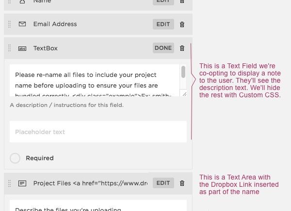 Dropbox-Upload-Textbox-Instructions