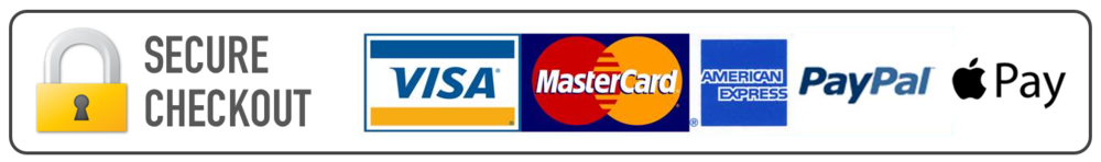 Secure-Checkout-Visa-Mastercard-Amex-PayPal-Apple-Pay