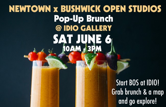 Just one option at our Saturday Pop-Up brunch on the IDIO patio, by Newtown Cafe!
