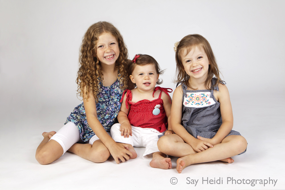 siblings studio portrait