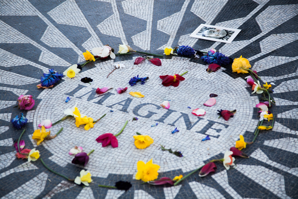 John Lennon Memorial, NY