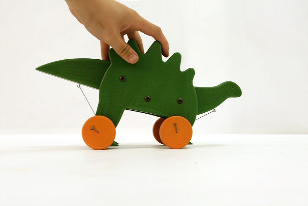Dinosaur Push Toy