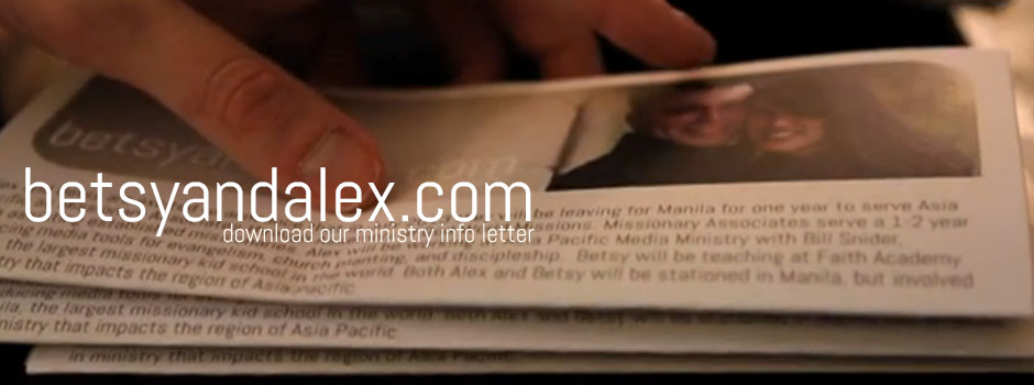 Ministry Information Letter