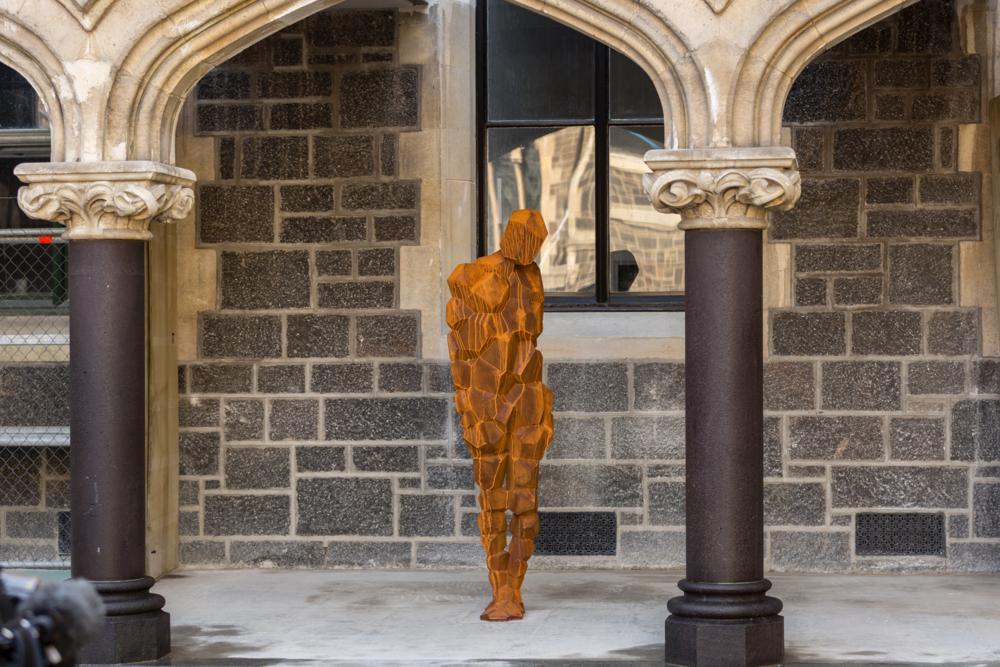 Antony Gormley, STAY, 2016 (Arts Centre Installation)