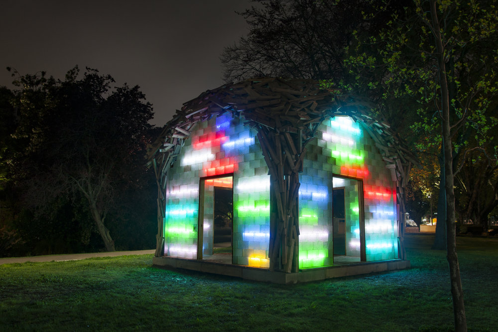 Gregor Kregar  The Glass Pavilion  2017. Image courtesy of the artist and Gow Langsford Gallery, Auckland. Photo by Heather Milne.