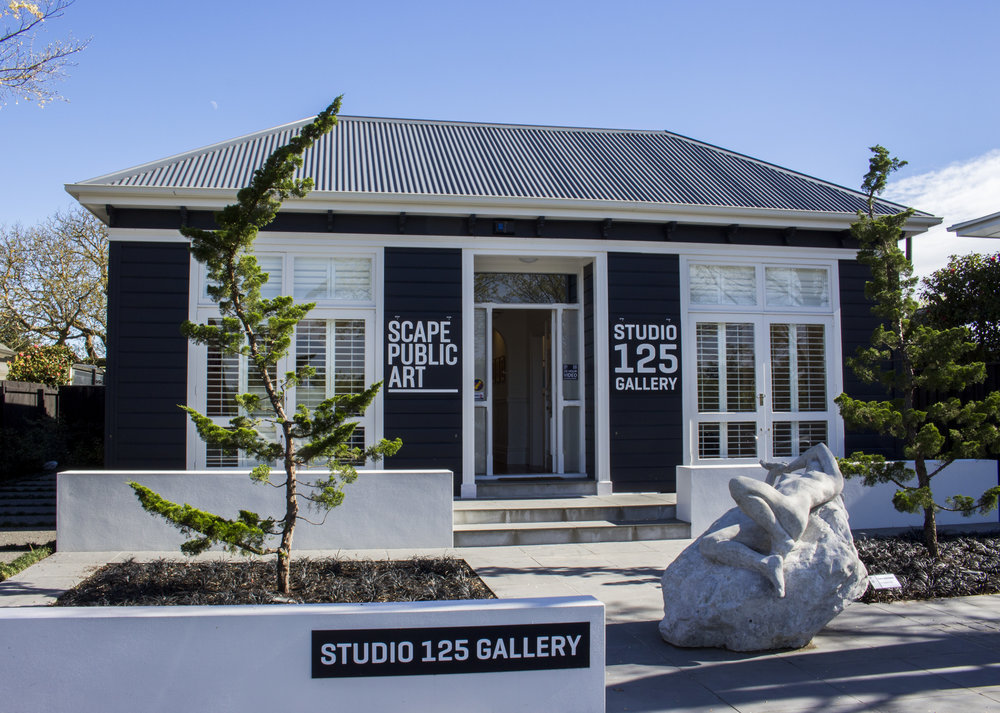 Studio 125 Gallery  , 125 Aikmans Road, Merivale, Christchurch.