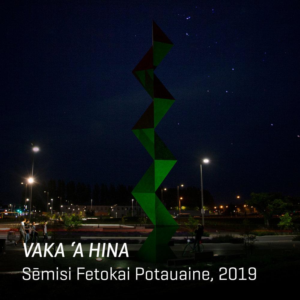 VAKA 'A HINA by Sēmisi Fetokai Potauaine