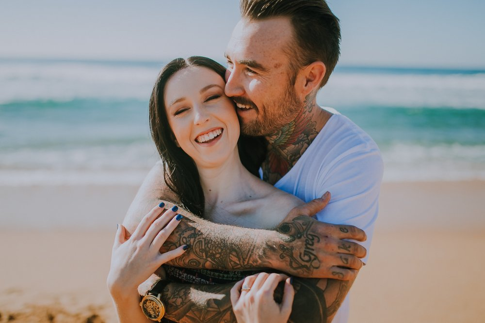 engagement photography central coast