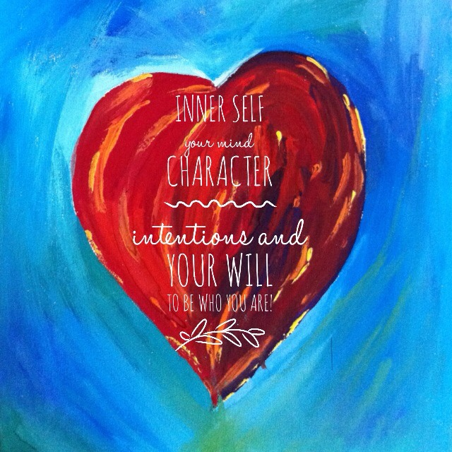 YOUR heart is the center of it all!