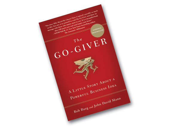 """Do You Want to Know the Secret to Getting What You Want?   It's called  GIVING . I'm reading the book  The Go Giver  by Bob Burg & John David Mann. It tells a story of an ambitious young man, Joe, who yearns for success, a true go-getter. It's not until he meets the """"Connector"""", that he begins to learn from the """"go-givers."""" This focus shift from getting to giving rocks Joe's world but at the same time teaches him """"Give and you shall receive!"""" With only 127 pages, it's packed with five powerful laws we   all   need to live by. Making this new goal of giving be your new priority will inspire you. No one ever became poor by giving. Tis the season to change our thinking and reap the benefits!   Image:  www.thehealthjournals.com"""