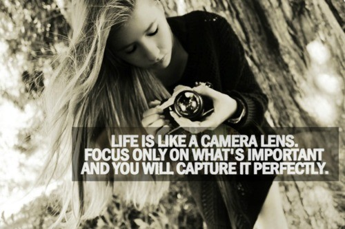 Only Focus on that is important. You will be amazed and how all else falls into the faded background.