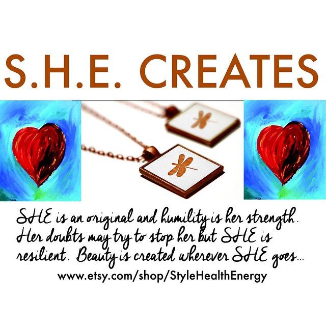 ENCOURAGE HER… SHE CREATES! #valentines day #iamSHE #givelove