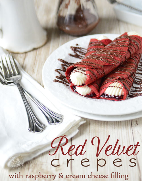 guardians-of-the-food :       Red Velvet Crepes       This week we focus on all things sweet, lovely and red.