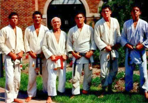 Gracie Family and cousin Rigan Machado, the origins of Brazilian Jiu Jitsu.