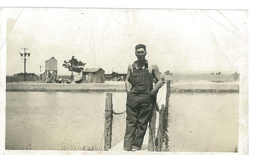 Santiago Hernandez, Bakersfield, circa 1920/30's.Courtesy of Saucido family archives.
