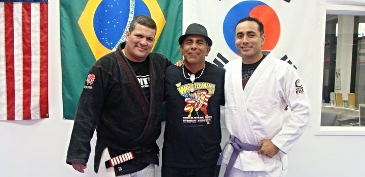 With Master Rigan and my Father, 2010.